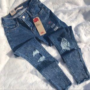 Levi's 710 Super Skinny Jeans New Retro